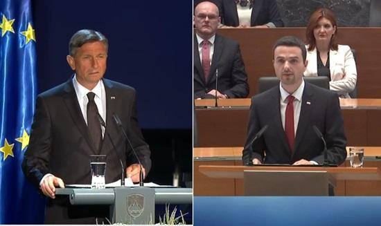 """Pahor in Tonin o """"naši ljubi domovini"""", za katero se je """"vredno boriti"""""""