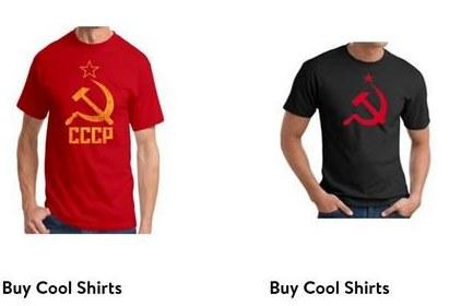 Nič več majic s sovjetsko komunistično simboliko: Baltske države pri Walmartu dosegle umik iz prodaje