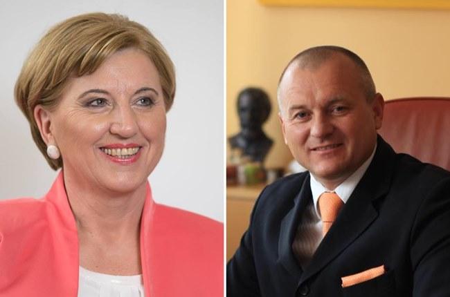 Finalni evropski duel: Ljudmila Novak in Franc Kangler glede Webra enotno, glede Orbana različno (1.del)