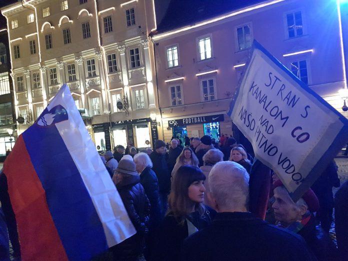 protest kanal c0 ljubljana