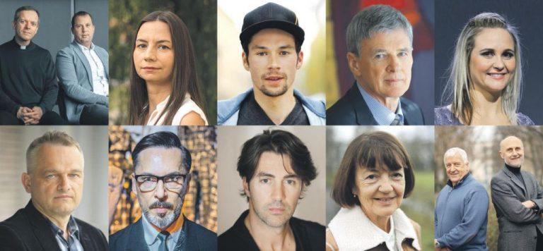 Za Delovo osebnost leta nominirana tudi pobudnika iniciative Dovolj.je Janez Cerar in Igor Vovk