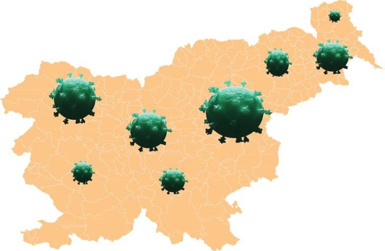 Rast števila okuženih znova eksponentna, včeraj potrjenih 21 novih okužb