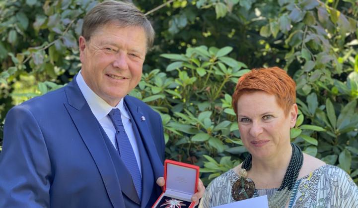 Radio Ognjišče: Zgodovinar Mitja Ferenc prejel visoko avstrijsko odlikovanje