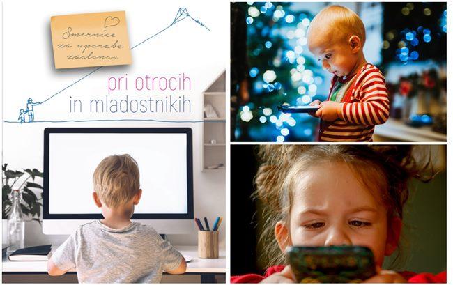 Nujno za starše: zdravstvena stroka izdala smernice za uporabo zaslonov pri otrocih in mladostnikih, da se omejijo škodljive posledice